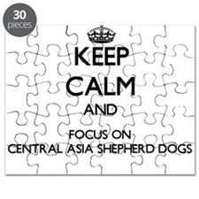Keep calm and focus on Central Asia Shepher Puzzle
