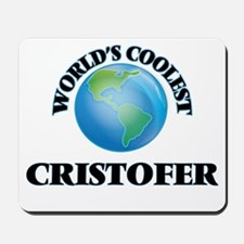 World's Coolest Cristofer Mousepad