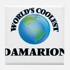 World's Coolest Damarion Tile Coaster