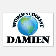 World's Coolest Damien Postcards (Package of 8)