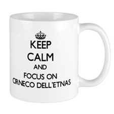 Keep calm and focus on Cirneco Dell'Etnas Mugs