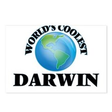 World's Coolest Darwin Postcards (Package of 8)