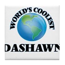 World's Coolest Dashawn Tile Coaster