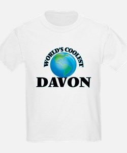 World's Coolest Davon T-Shirt