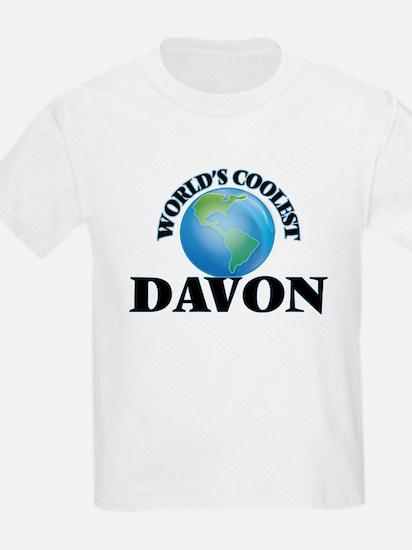 World's Coolest Davon T-Shirt