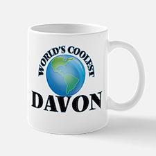 World's Coolest Davon Mugs