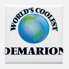 World's Coolest Demarion Tile Coaster
