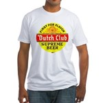 Dutch Club Beer-1952 Fitted T-Shirt