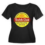 Dutch Club Beer-1952 Women's Plus Size Scoop Neck
