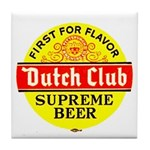 Dutch Club Beer-1952 Tile Coaster
