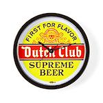 Dutch Club Beer-1952 Wall Clock
