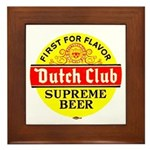 Dutch Club Beer-1952 Framed Tile