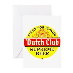Dutch Club Beer-1952 Greeting Cards (Pk of 10)