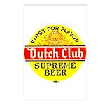 Dutch Club Beer-1952 Postcards (Package of 8)