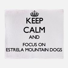 Keep calm and focus on Estrela Mount Throw Blanket