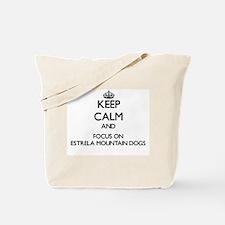 Keep calm and focus on Estrela Mountain D Tote Bag