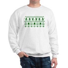 Sasquatch Ugly Christmas Sweater Sweatshirt