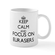 Keep calm and focus on Eurasiers Mugs