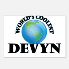 World's Coolest Devyn Postcards (Package of 8)