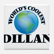 World's Coolest Dillan Tile Coaster