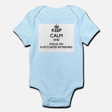 Keep calm and focus on Flat-Coated Retri Body Suit