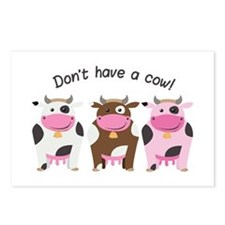 Have A Cow Postcards (Package of 8)