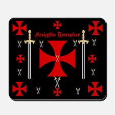 Knights Templar Mousepad