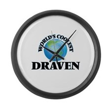 World's Coolest Draven Large Wall Clock