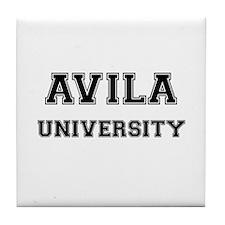 AVILA UNIVERSITY Tile Coaster