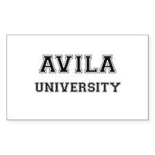 AVILA UNIVERSITY Rectangle Bumper Stickers