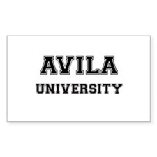AVILA UNIVERSITY Rectangle Decal