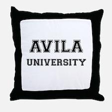 AVILA UNIVERSITY Throw Pillow