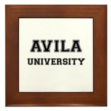AVILA UNIVERSITY Framed Tile