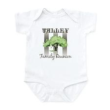 TALLEY family reunion (tree) Infant Bodysuit