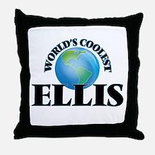 World's Coolest Ellis Throw Pillow