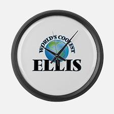 World's Coolest Ellis Large Wall Clock