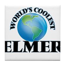World's Coolest Elmer Tile Coaster