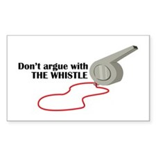 The Whistle Decal