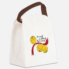 Angel Gets Wings Canvas Lunch Bag
