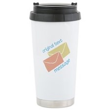 Text Message Travel Mug
