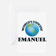 World's Coolest Emanuel Greeting Cards