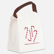Welcome To Candy Cone Lane Canvas Lunch Bag