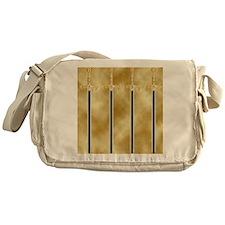 templar sword Messenger Bag