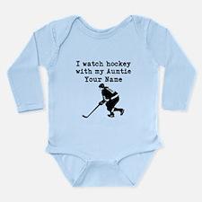 I Watch Hockey With My Auntie (Custom) Body Suit