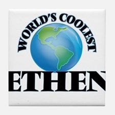 World's Coolest Ethen Tile Coaster