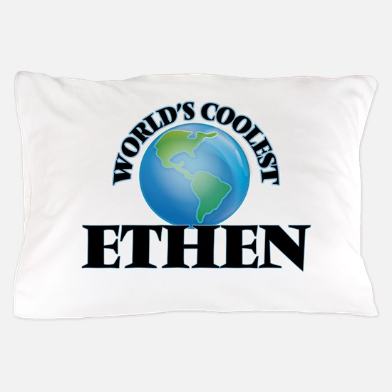 World's Coolest Ethen Pillow Case