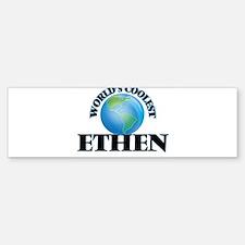 World's Coolest Ethen Bumper Bumper Bumper Sticker
