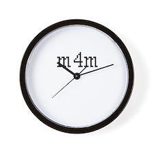 m4m Wall Clock
