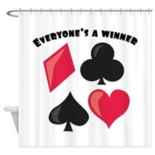 Everyone's A Winner Shower Curtain