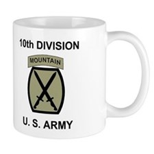 10th Mountain Division <BR>Coffee Cup